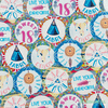 25 Stickers boho chic
