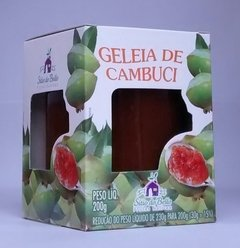 GELEIA DE CAMBUCI SÍTIO DO BELLO 200 G