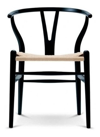 Set 4 Sillon Wishbone Hans Wegner Madera Natural  Importada - Alto Impacto - ALTO IMPACTO Home + Office