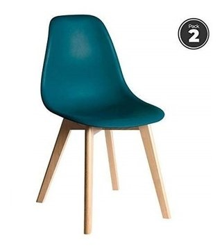 Set * 2 Silla Eames Base Tulip Comedor Colores- Alto Impacto - ALTO IMPACTO Home + Office