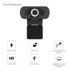 Camara Web XIAOMI Imilab Full Hd 1080p 2mpx webcam Pc en internet