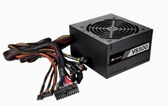 Fuente Pc Gamer CORSAIR Vs500 500w 80 Plus White - Shoppingame