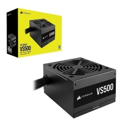 Imagen de Fuente Pc Gamer CORSAIR Vs500 500w 80 Plus White