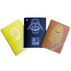 "Set Libretas Costhansoup ""Star Wars"""