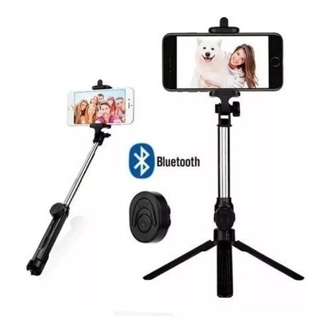 Baston Selfie Extensible Bluetooth HX-07 c/control