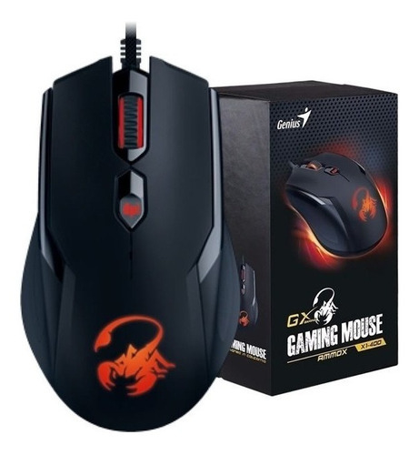 Mouse USB GAMER GENIUS AMMOX GX-X1-400