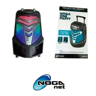 Parlante NOGA ONE PARTY Bluetooth 35W HPW-K81