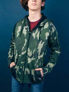 Campera Quest Camuflado KIDS Kevingston