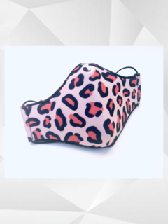 Tapaboca Animal Print de Neoprene