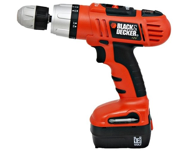 Taladro BLACK & DECKER Hp-144K-Ar Inalambrico 13mm