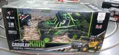 Automodelo  1/18 crawler king completo