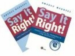 SAY IT RIGHT! - Pack - Amadeu Marques