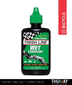 Lubricante de Cadena Humedo Finish Line Wet Lube 2oz / 59ml - Thuway