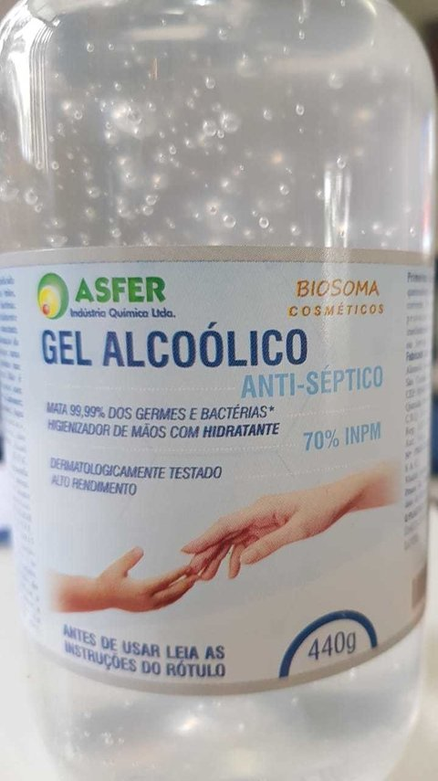Álcool Gel 70 Anti-Séptico 500ml