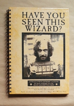 A4 Have you seen this wizard? 150 hojas lisas/rayadas