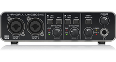 Interfaz De Audio Usb Behringer U-phoria Umc202hd