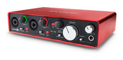 Interface De Sonido Focusrite Scarlett 2i4
