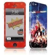 The Big Bang Theory - Capa adesiva para Iphone 4