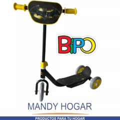 Monopatin Infantil Scooter 3 Ruedas Batman Mandy Hogar en internet