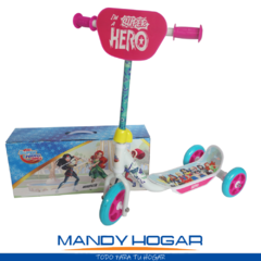 Monopatin Infantil Scooter 3 Ruedas Batman Mandy Hogar - Mandy Hogar