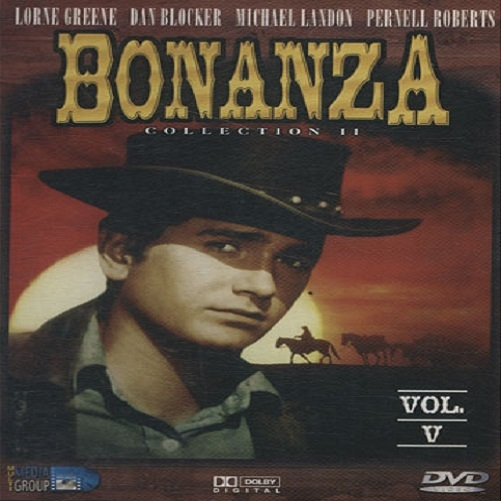 DVD Bonanza vol V colection II raro Lorne Greene