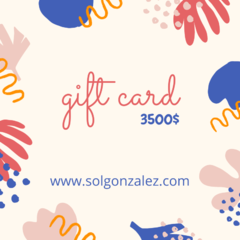 GIFT CARD 3500