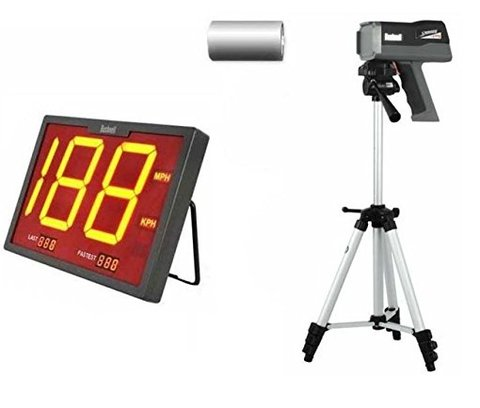 "Combo Pistola Radar Bushnell + Tripé 60"" + Display"