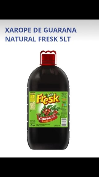 GUARANA NAT FRESK 5LT