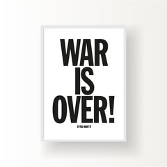 WAR IS OVER - comprar online