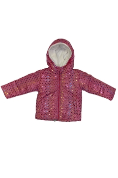 Campera estampada corazones foil (ART 1240) en internet