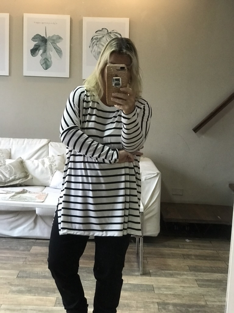 Sw Oversize Stripes BYN