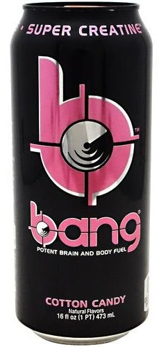 Bang Super Creatine Ultra COQ 10 BCAA Black Cherry Vanilla (473 ml) - VPX