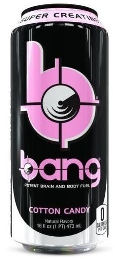 Bang Super Creatine Ultra COQ 10 BCAA Cotton Candy - VPX