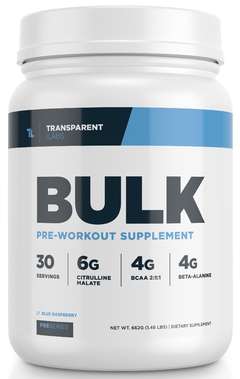 Bulk Pre Work Out - Transparent Labs