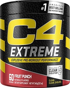 C4 Extreme Explosive Pre Workout Performance (60 servicios) - Cellucor