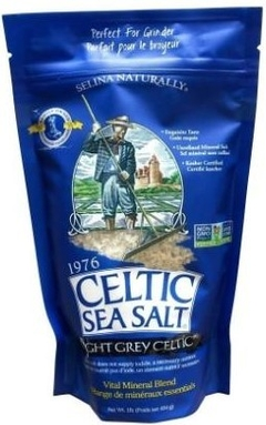 Celtic Sea Salt Light Grey Celtic (454 Gr) - Selina Naturally