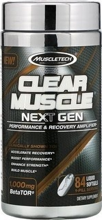 Clear Muscle Next Gen (84 Liquid Caps) - Muscletech