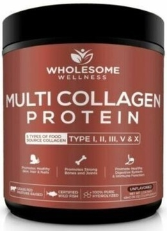 Multi Collagen Protein (454 gramos) - Wholesome Wellness