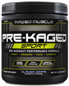 Pre Kaged Sport (20 servicios) - Kaged Muscle