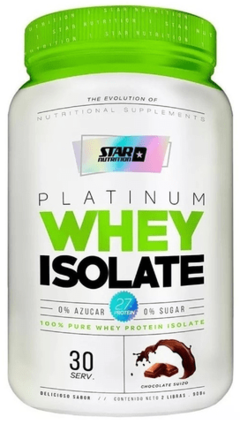 Platinum Whey Isolate (2 Lbs) - Star Nutrition