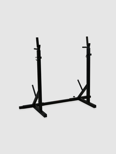 Rack Clasico con porta disco doble Nacional - MM Fitness