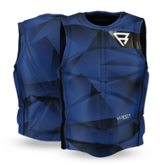 Bravery Wake Vest (sidezip) Men Vests Blue