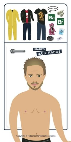 jesse pinkman breaking bad regalo imanes