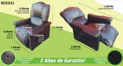 Sillón Reclinable 5 Posiciones - Easy Living