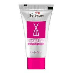 EXCITATION EXCITANTE BISNAGA ROSA 25G HOT FLOWERS