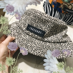 animal print bucket hat