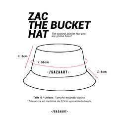 "Zac The Bucket Hat ""Queen Stripes"" - comprar online"