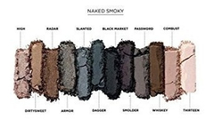 Imagem do Urban Decay Naked Vault Com 6 Paletas De Sombras: Naked 1, 2, 3, Smoky, Basics 1 E 2