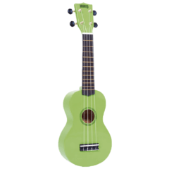 Ukelele Mahalo MR1 Soprano Green (Incluye Funda)