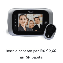 Olho Mágico Digital Yale Real View Pro